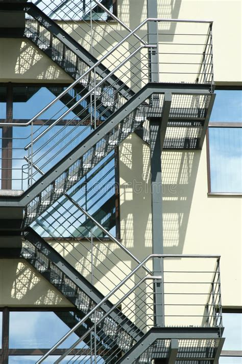 escape ladder escape ladder stock photo image of safety staircase 28657242