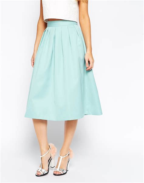satin skirt dressed up