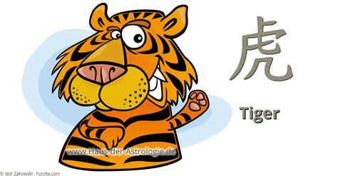 horoskop haus der astrologie tiger im chinesischen horoskop