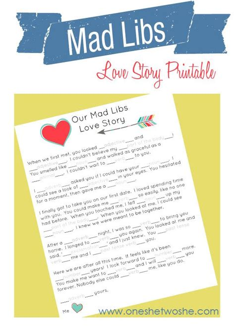 free printable elf mad libs our mad libs love story free printable and laughs