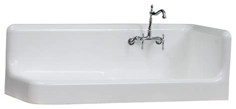American Standard Cast Iron Kitchen Sinks Consigned 1925 American Standard Right Corner Cast Iron Farmhouse Sink Farmhouse