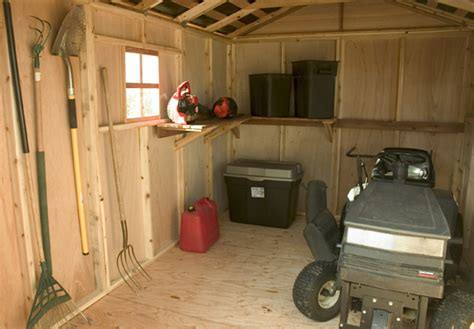 outdoor living  spacemaker storage shed