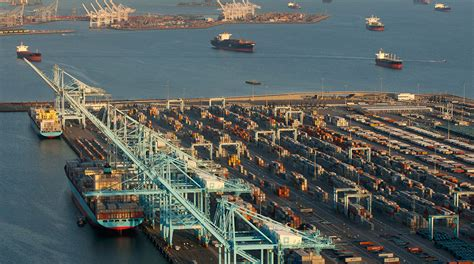 port of los angeles new year port of l a labor sign 10 year agreement on