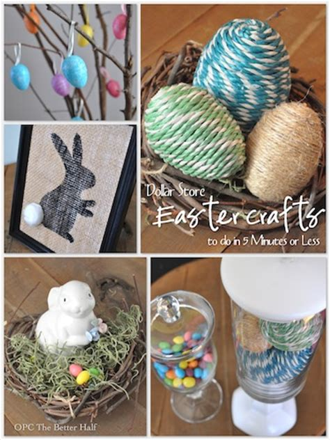 dollar store crafts for easy crafts to make at home for easter