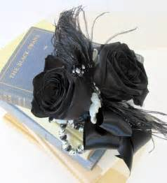 and black corsage worcester florists sprout prom flowers 2011 wrist corsages