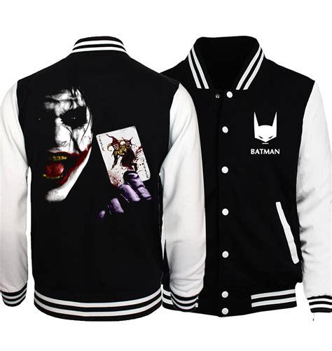 bomber jacket superman series batman 2 joker streetwear