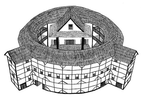 coloring page of globe theater globe theater coloring pages