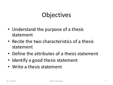 define dissertations thesis statement