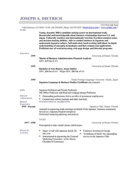 resume format for freshers doc download