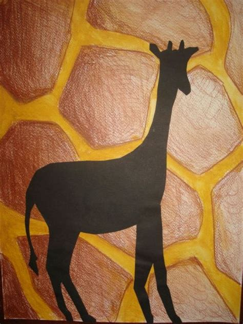 pattern and texture art lessons art lessons for kids animal sillouettes and patterns