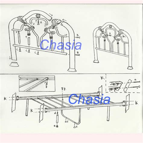 metal bed frame parts wholesale top quality latest metal bed frame parts designs
