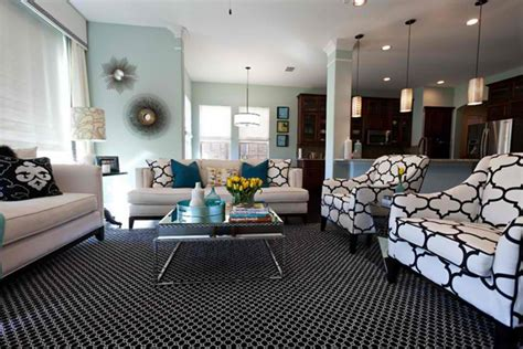 Black White Blue Living Room by 20 Amazing Blue Black White Yellow Living Rooms Home