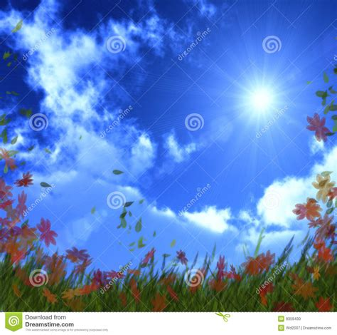 bright as day l bright sunny day stock photo image 9359430