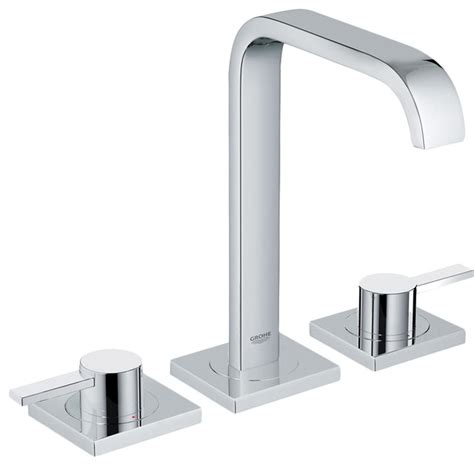 grohe 20191000 chrome two handle widespread lav