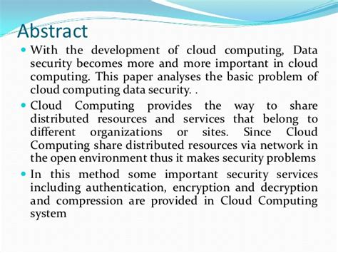 research papers on data security in cloud computing phobia research papers