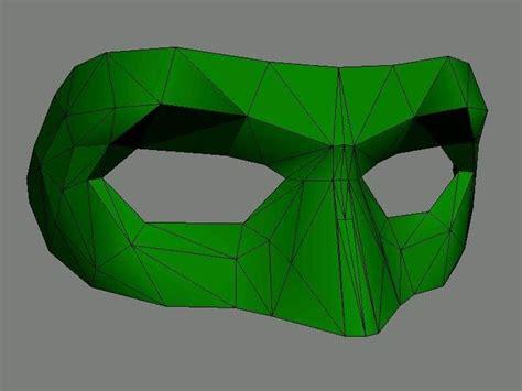 Papercraft Lantern - green 2blantern 2bpaper 2bmask jpg