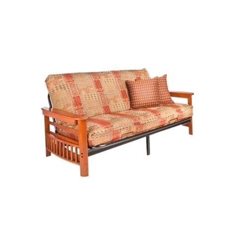 Futon Stores Portland Or by And Day Portland Wood And Metal Futon In Cherry