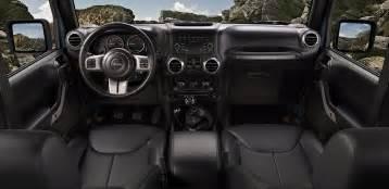 Jeep Wrangler Interior 2017 Jeep Wrangler Rubicon Rock Limited Edition