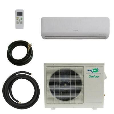 century vmh series 9 000 btu ductless mini split air