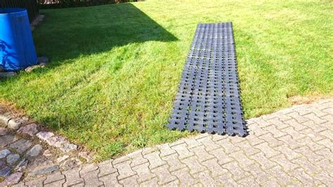 rasengittersteine aus kunststoff kunststoff rasengittersteine ohne unterbau direkt auf den