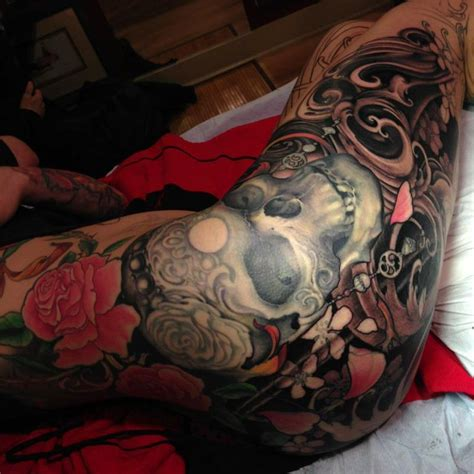 jeff gogue tattoo the map