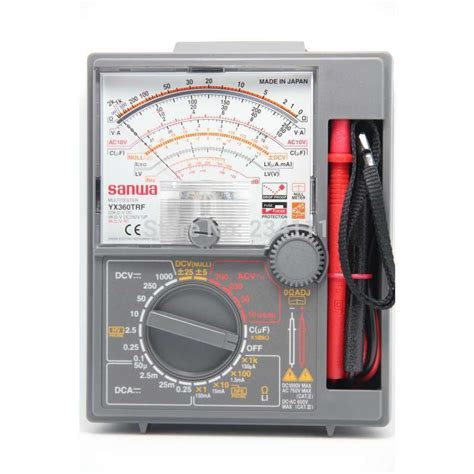 Multimeter Analog Merk Sanwa yx360trf analog multitesters drop shock proof meter price
