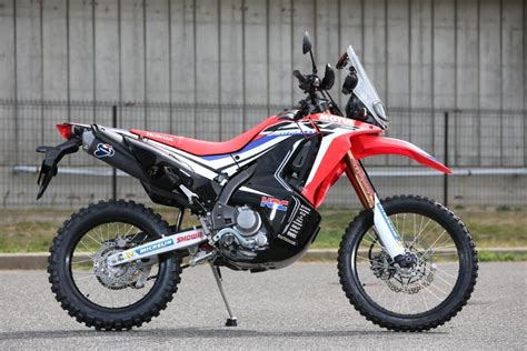 Papan No Crf250 honda crf250 rally prototype mcn