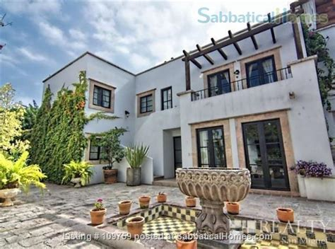 sabbaticalhomes home for rent san miguel de allende
