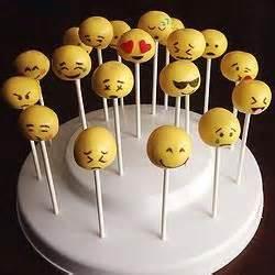 cake pop emoticon and emoji pop on pinterest