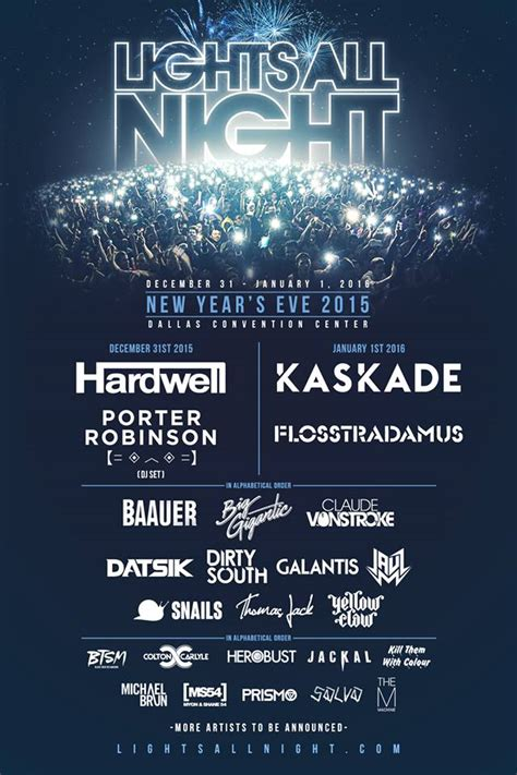 lights all night 2016 lineup hardwell porter robinson kaskade and more to headline