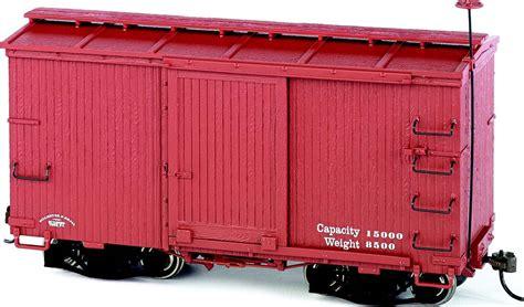 box car 18 ft box car w murphy roof oxide data only 2