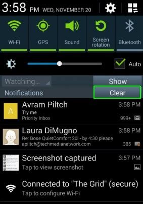 android notification bar how to use the notification bar in android