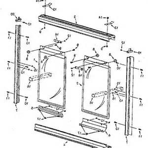 sliding shower door bottom tub enclosure part 11