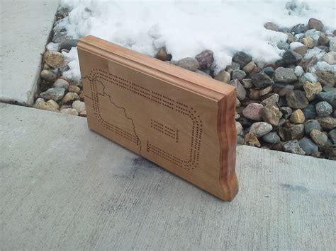 north dakota cribbage board ii  glennsgrandson