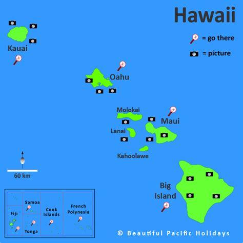 map of hawaii islands island hawaii islands