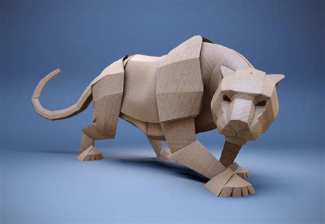 Origami Panther - between the folds origami evolving from the