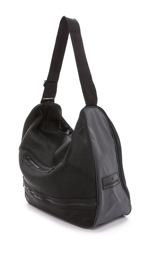 Stella Mccartney Saddle Bag by Lyst Adidas By Stella Mccartney Athletic Rtd Bag Black