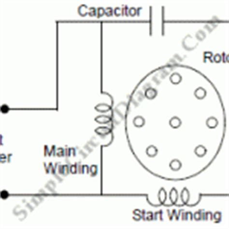 permanent split capacitor induction motor motor simple circuit diagram page 2