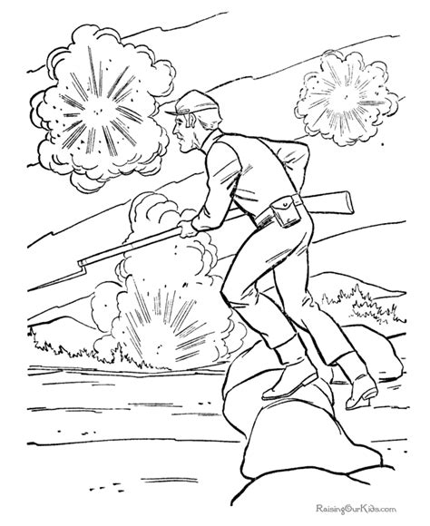 army war coloring pages free coloring pages of revolutionary war soldier
