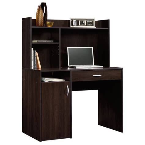 sauder beginnings computer desk beginnings desk with hutch 413084 sauder