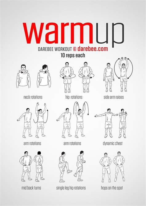 8 Best Workouts For In Their 20s by 20 Best Ideas About Workout Warm Up On