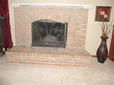 Remove Fireplace Hearth by Fireplace Redesign Can I Remove The Hearth
