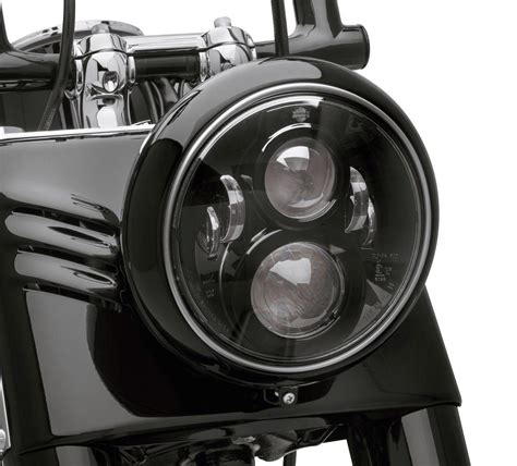 Motorrad Scheinwerfer Mit Abe by 67700267 Daymaker 7 Quot Projector Led Schwarz Softail Ab 91