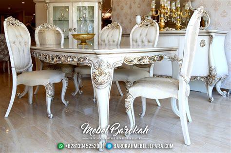 Meja Makan Ukiran Jepara set meja makan model istanbul ukiran mebel jepara mewah