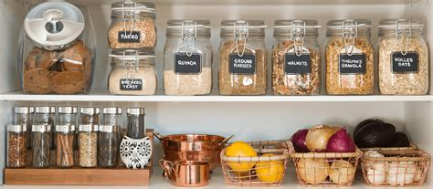 Kitchen Storage Canisters by Pantry Organization For A Healthy New Year Mrs Meyer S