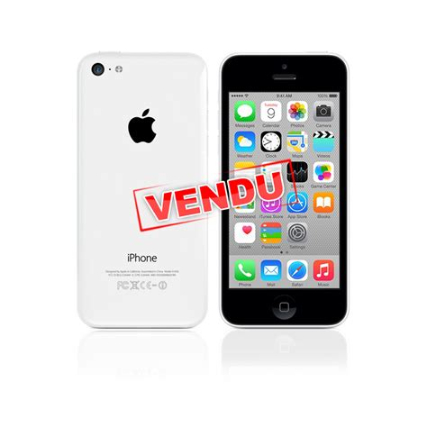 iphone 5c blanc d occasion ordimobile