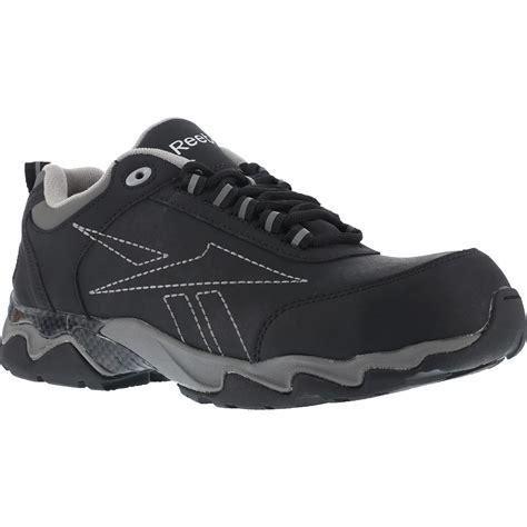 Reebok Beamer Safety Shoes s black composite toe work athletic shoe reebok beamer