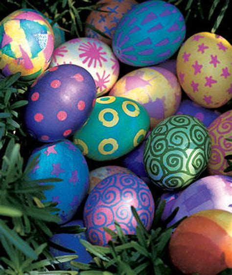 easter eggs decoration decorating easter egg ideas family holiday net guide to