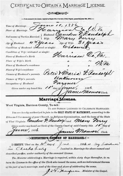 Camden County Marriage Records Camden F Randolph I Burton Davis