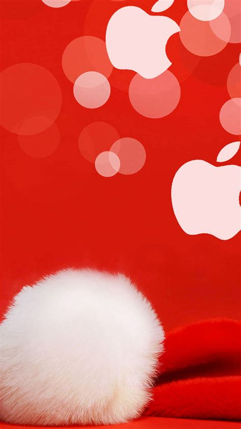 apple christmas iphone  wallpapers hd